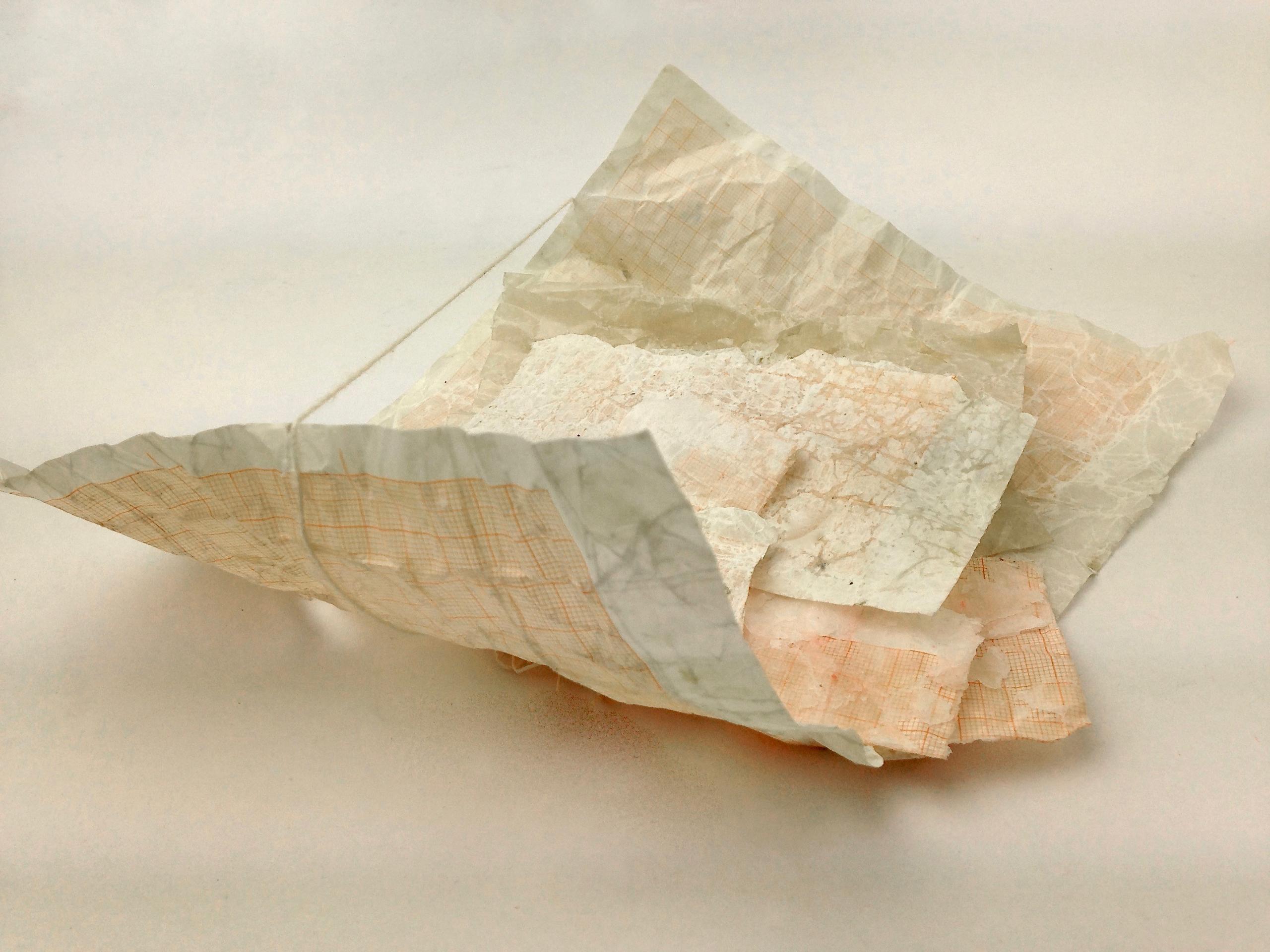 Papierversuch 1. Sybille Fenzel